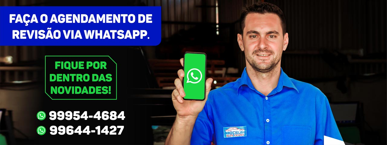 Mocelin Auto Center Nova Mutum - Faça o agendamento de revisão via whatsapp
