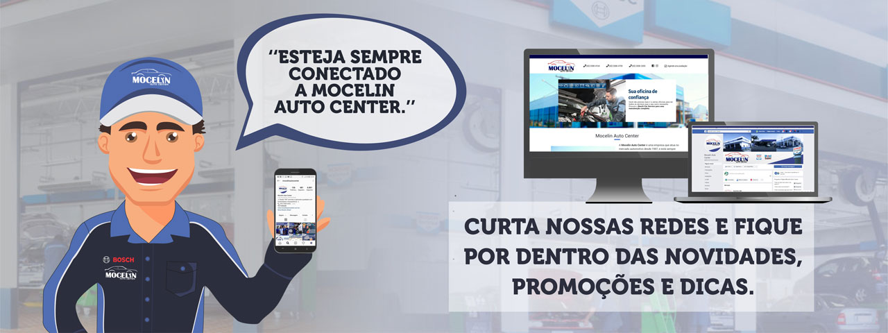 Mocelin Auto Center Nova Mutum - Esteja sempre conectado a Mocelin Auto Center